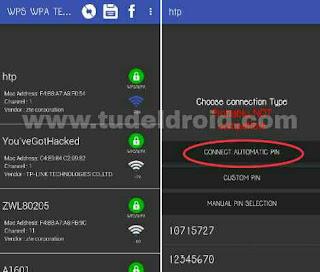 Hack Wifi di Android