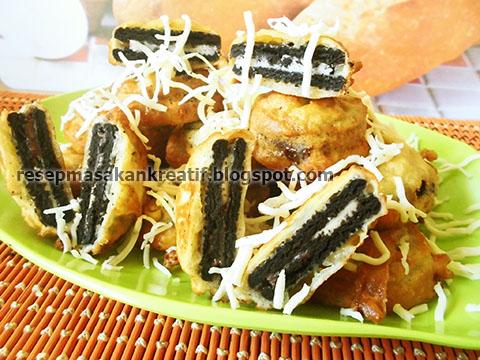 Resep Oreo Goreng Pancake Enak Dan Renyah Aneka Resep