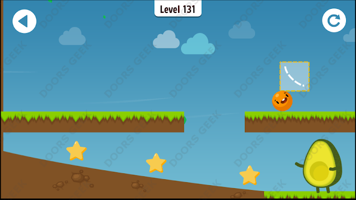 Where's My Avocado? Level 131 Solution, Cheats, Walkthrough, 3 Stars for Android, iPhone, iPad and iPod