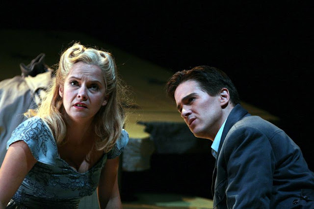 Nicholas Maw: Sophie's Choice - Angelika Kirchschlager, Gordon Gietz - Washington National Opera (Photo by Karin Cooper)