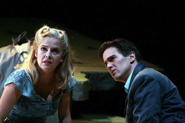 Nicholas Maw: Sophie's Choice - Angelika Kirchschlager, Gordon Gietz - Washington National Opera (Photo by Karin Cooper)