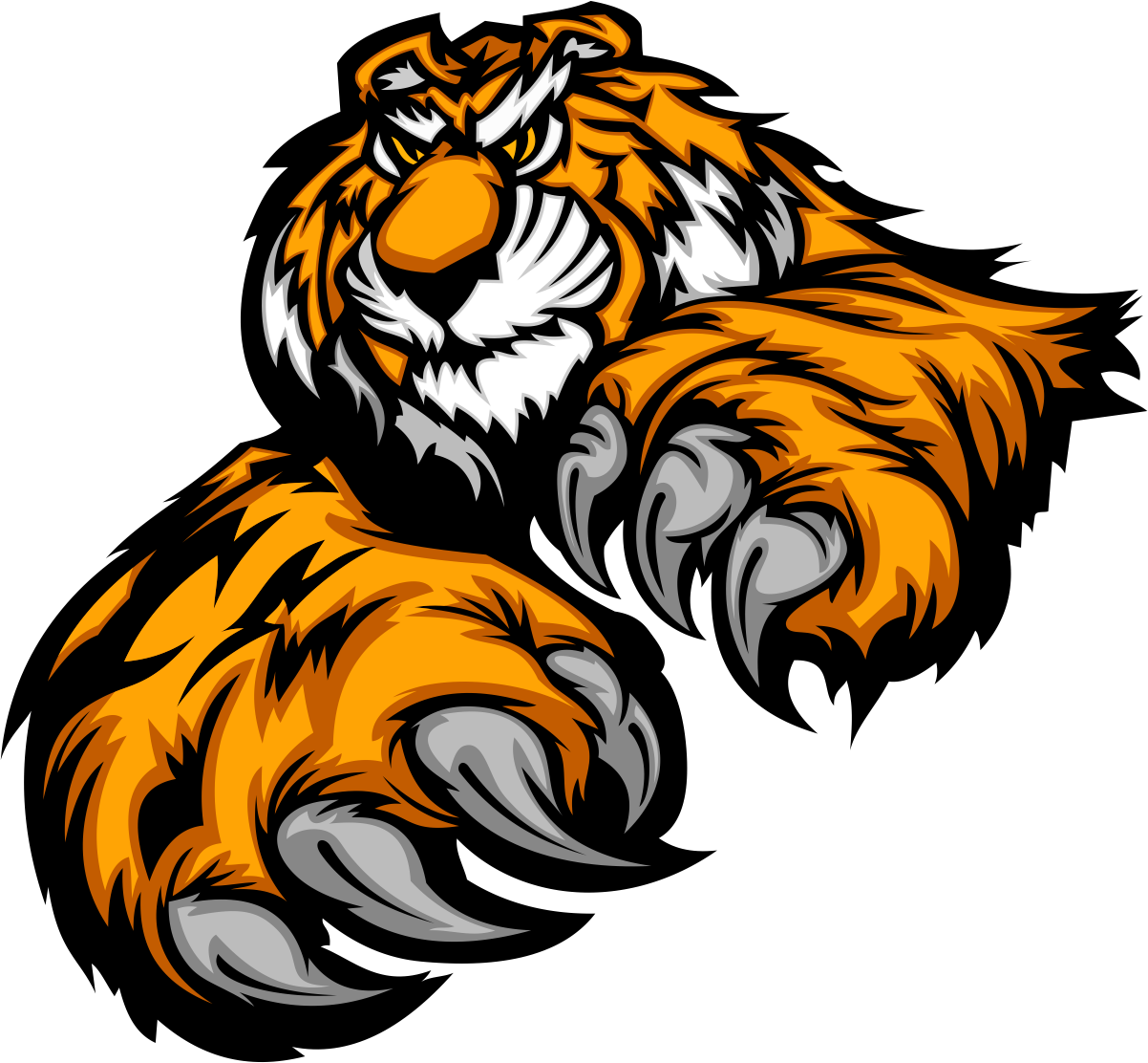 Download Tiger / Macan Vector CorelDraw PNG HD - Vectorzy