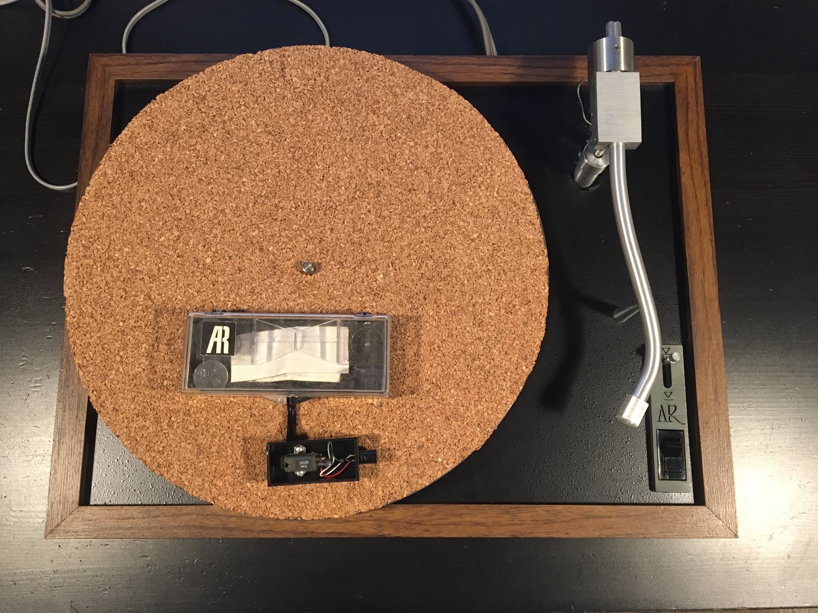 Revolver: 67  Acoustic Research AR XB1 Turntable from 1972