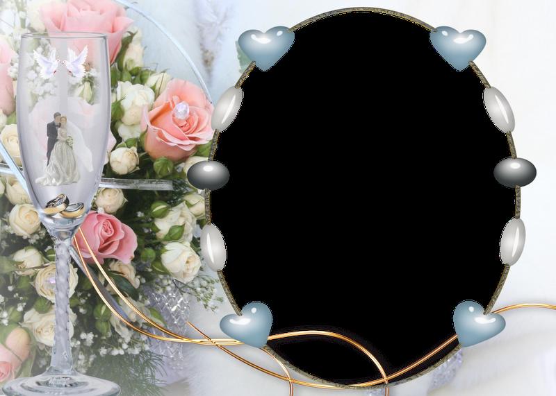 marcos para boda png