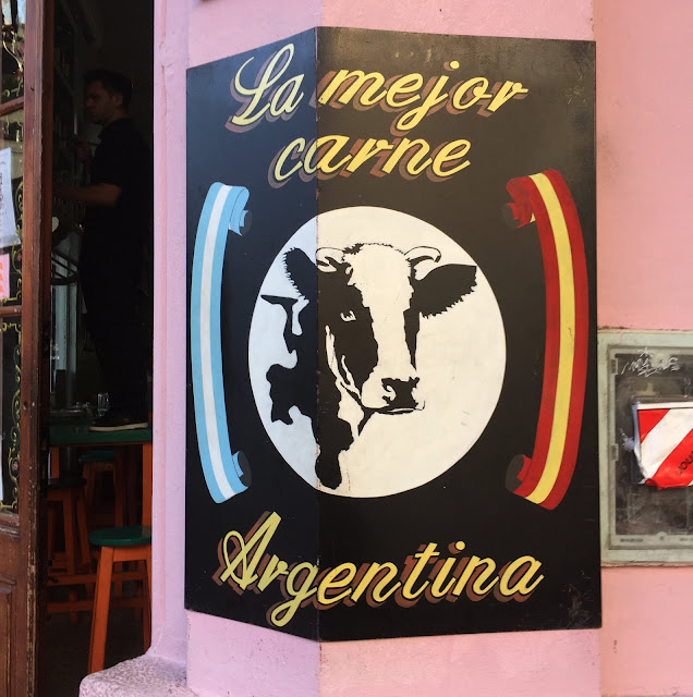 Restaurant Sign in Palermo