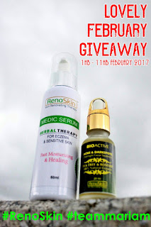 Medic Serum & Bio Active Serum : Lovely February Giveaway