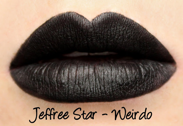 Jeffree Star Velour Liquid Lipstick - Weirdo Swatches & Review