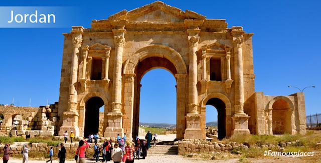 tourist destination in jordan