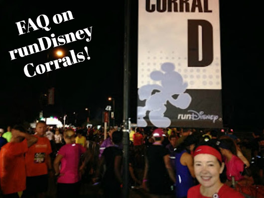 FAQ on runDisney Corrals
