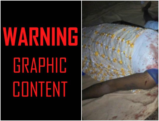 Baddo group kill mother and her child with grinding stone in Ikorodu (Graphic photos)