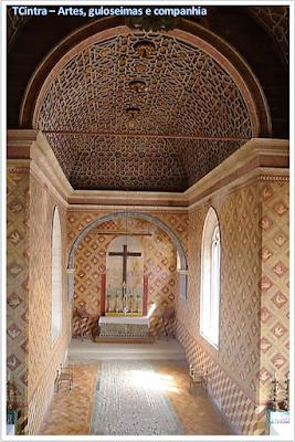 Capela Palatina; Palácio Nacional de Sintra; Portugal; sem guia; Europa;