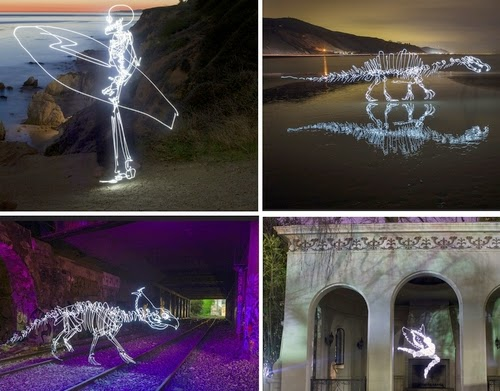 00-Darren-Pearson-Dinosaurs-Palaeontology-Skeletons-and-Angels-in-Light-Paintings-www-designstack-co