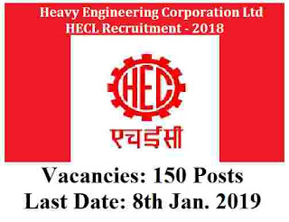 HECL Recruitment for 150 Trainee