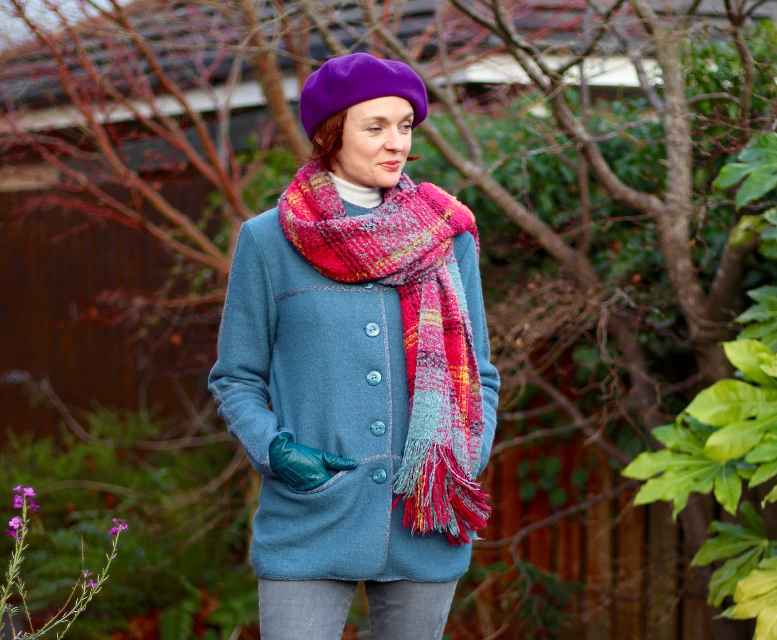 Fake Fabulous | Emreco boiled wool jacket and Merino Jumper | Casual style, over 40!