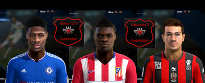 PES 2013 Facepack International Update 2016 by Bruno7 Facemaker