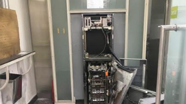 Robaron un cajero frente a la torre de las telecomunicaciones for Cuanto se puede retirar de un cajero