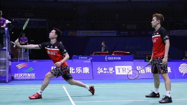 Pasangan Minion Kevin Dan Marcus Tembus Final Kejuaraan Asia 2019