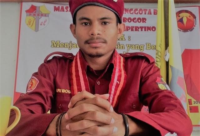 Okto N T *Mahasiswa jurusan Teknik PWK UNPAK dan Presidium Gerakan Kemasyarakatan PMKRI Cabang Bogor 2016-2017