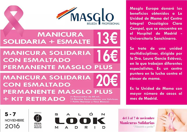 Manicuras Solidarias Masglo Salon Look de Madrid