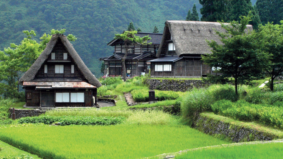 the human settlements shirakawa gokayama the japanese heritage villages with houses. Black Bedroom Furniture Sets. Home Design Ideas