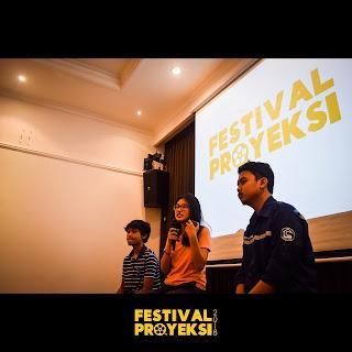 Pemutaran Januari Festival Proyeksi 2018