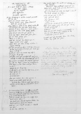 Climbing My Family Tree: Notes of Examination of Mary Towne Easty, 1692