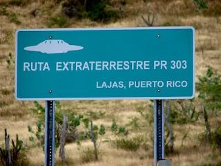 Resultado de imagen de ruta extraterrestre puerto rico lajas katecon2006