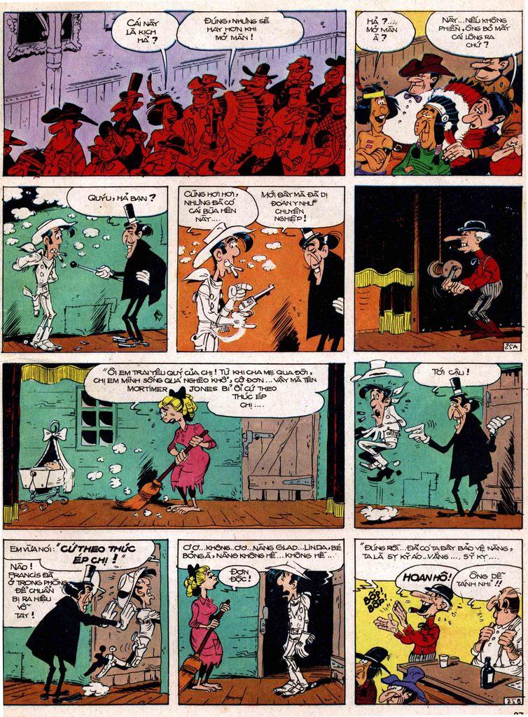 Lucky Luke tap 18 - ki si ao trang trang 25