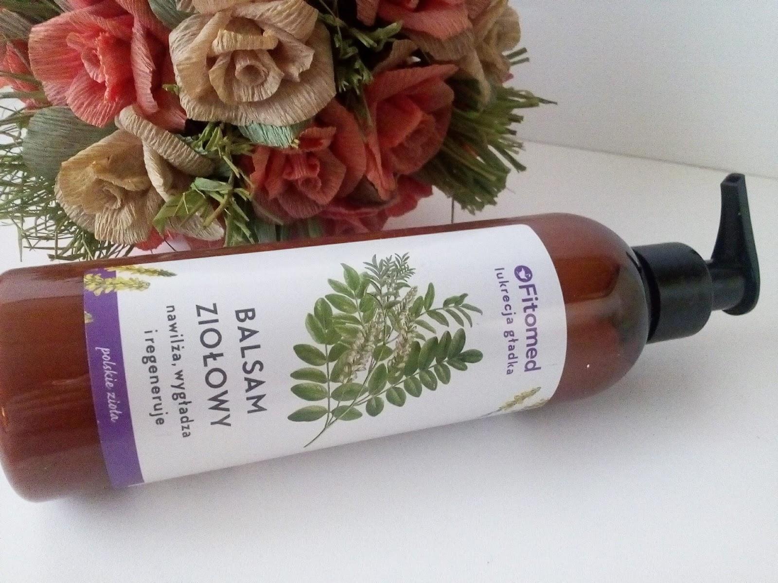Lukrecja w kosmetykach Fitomed - Balsam ziołowy do ciała