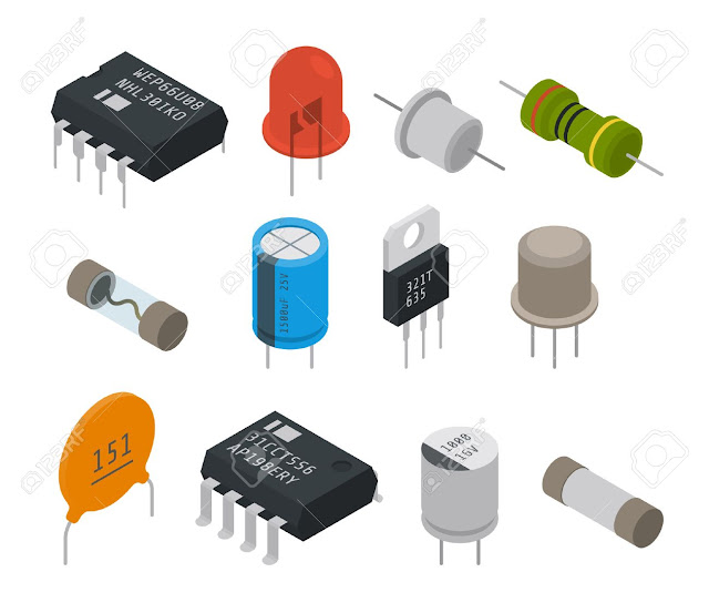 Basic electronic components for motherboard maintenance part1