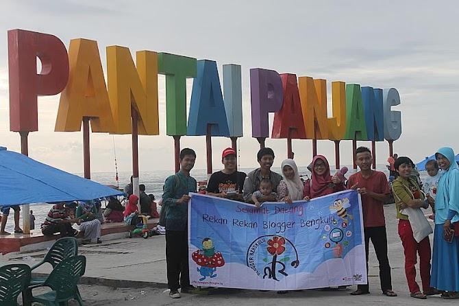 Kopdar Bulan Keenam Blogger Bengkulu Di Pantai Panjang