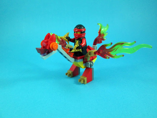 Set LEGO Ninjago 30422 Kai's Mini Dragon
