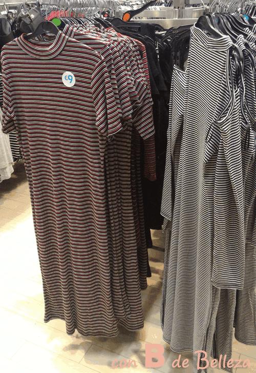 Vestido de rayas Primark