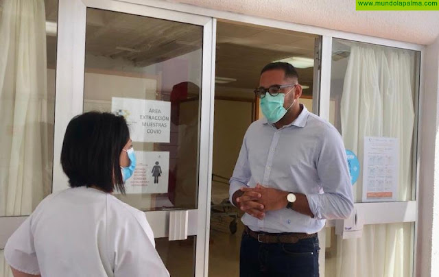 Sanidad inicia el cribado del personal del Servicio de Ayuda a Domicilio en La Palma para detectar la COVID-19