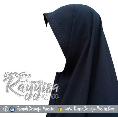 Model Jilbab Jetblack Kayyisa