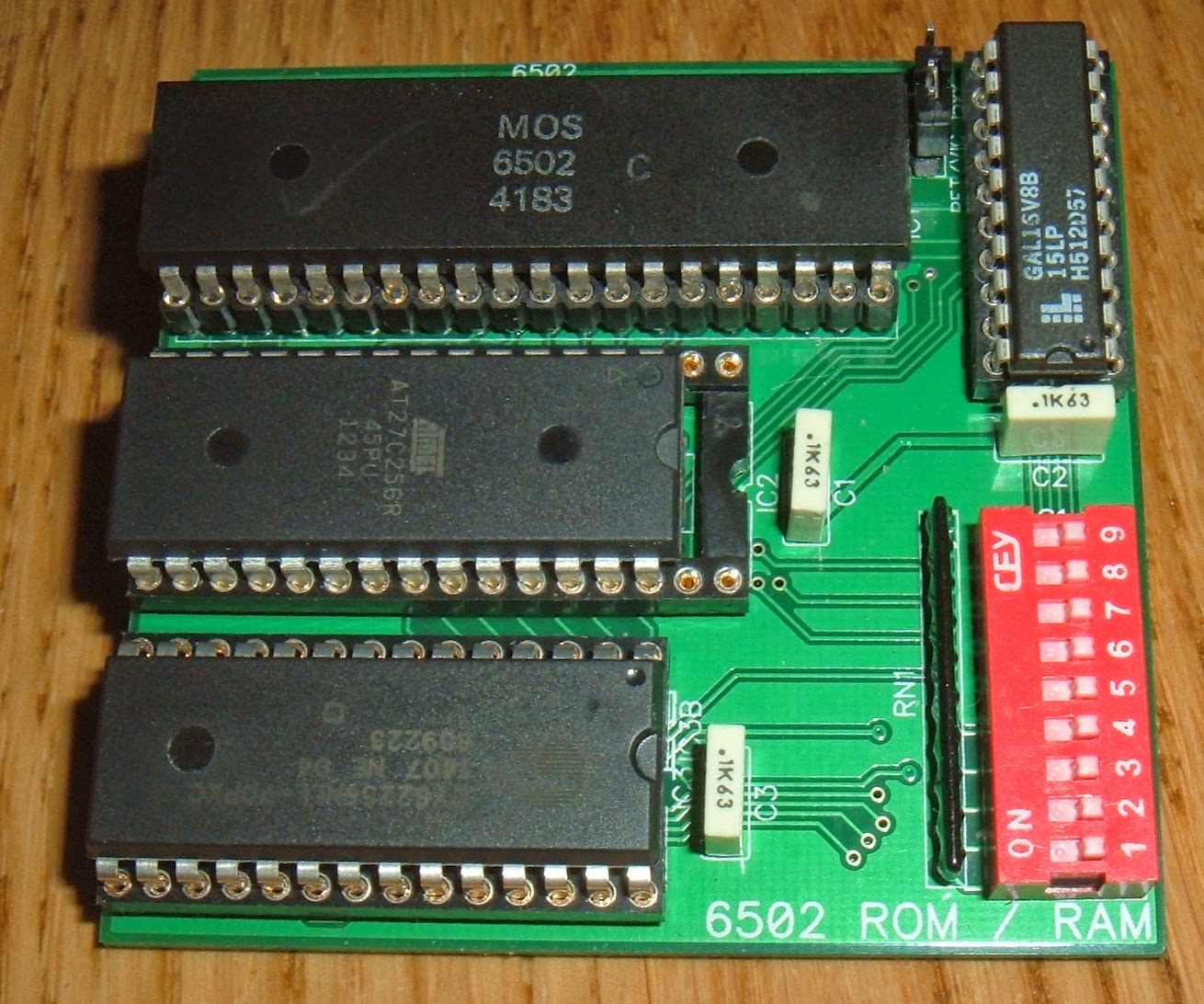 Tynemouth Software: 6502 ROM / RAM Replacement