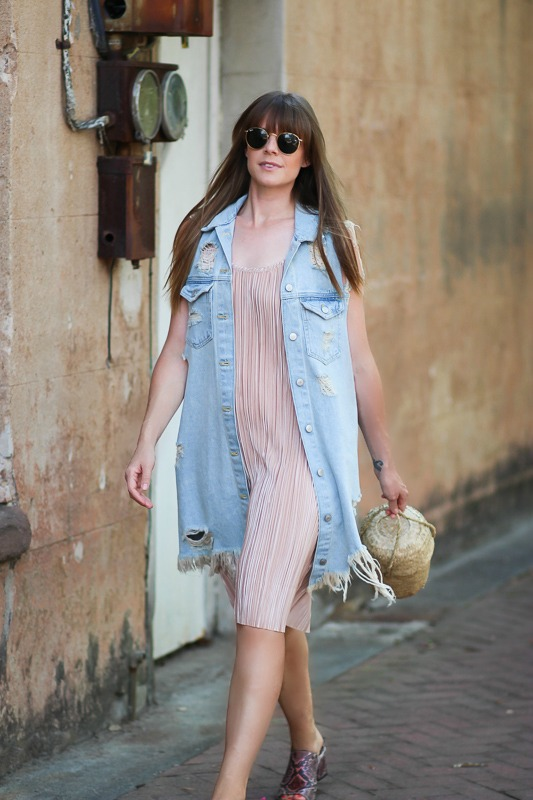 Summer Outfits- Blush Dress