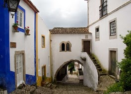 Óbidos, the white walled town