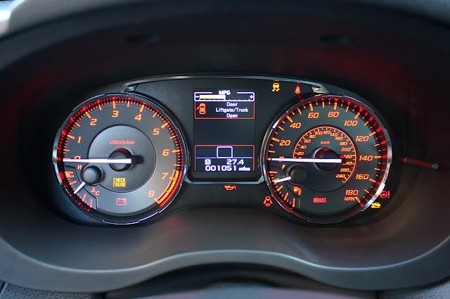2017 Subaru WRX Limited CVT 0-60