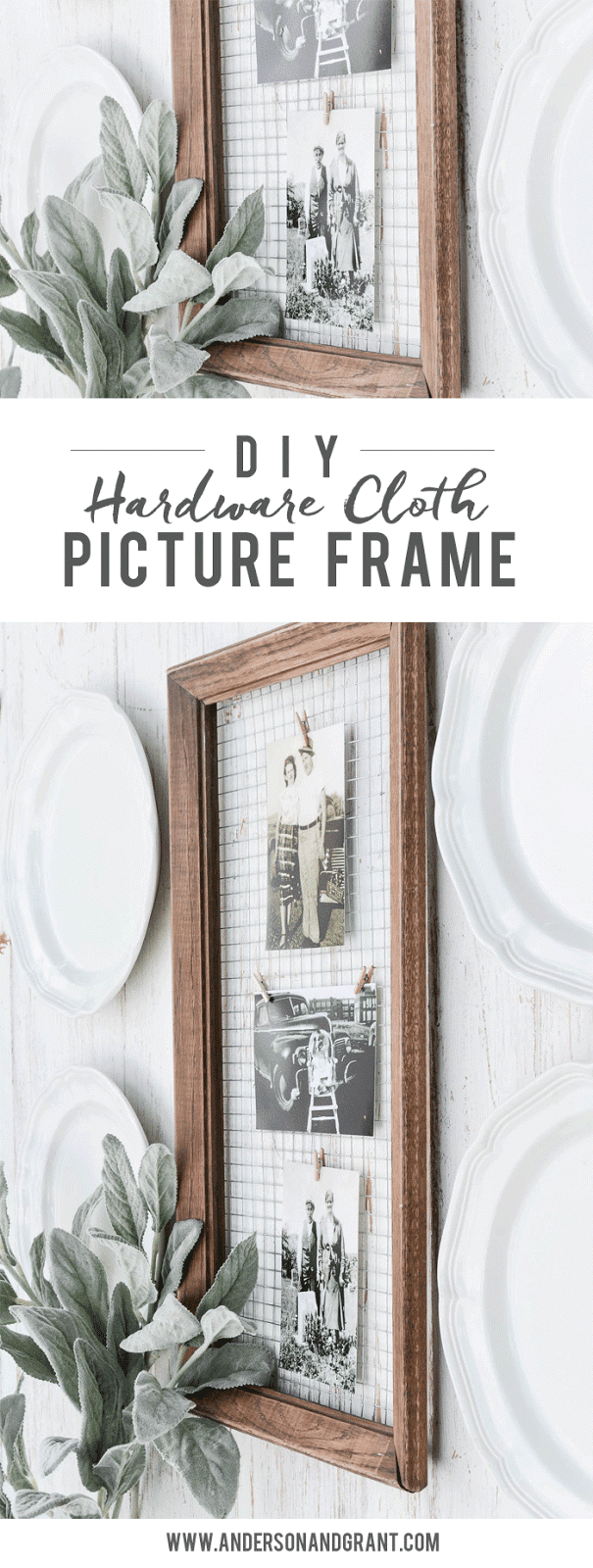 How to Create a Unique DIY Picture Frame to Display Photos ...