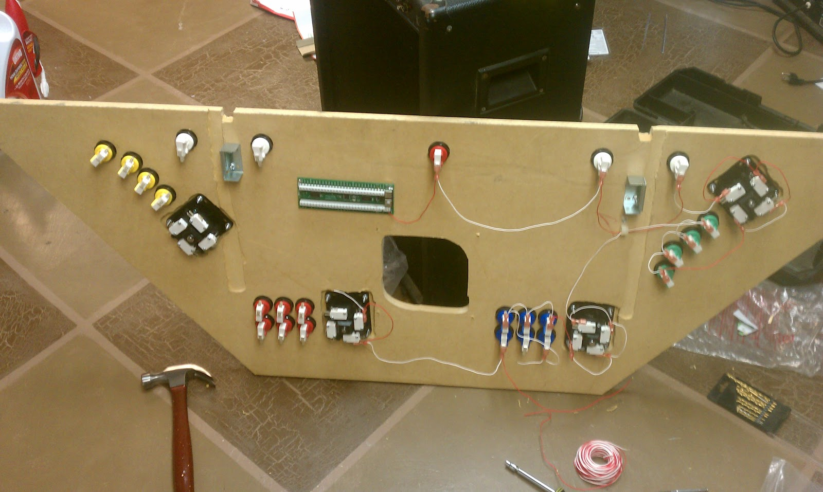 Right On Rydon: Wiring The Control Panel