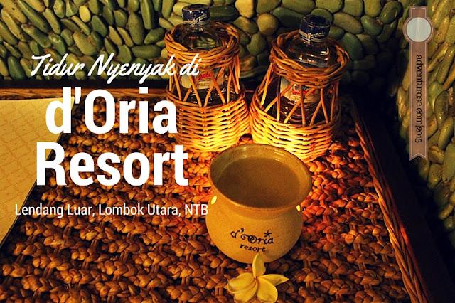 d'oria resort, oria resort, d'oria boutique resort, lombok, senggigi