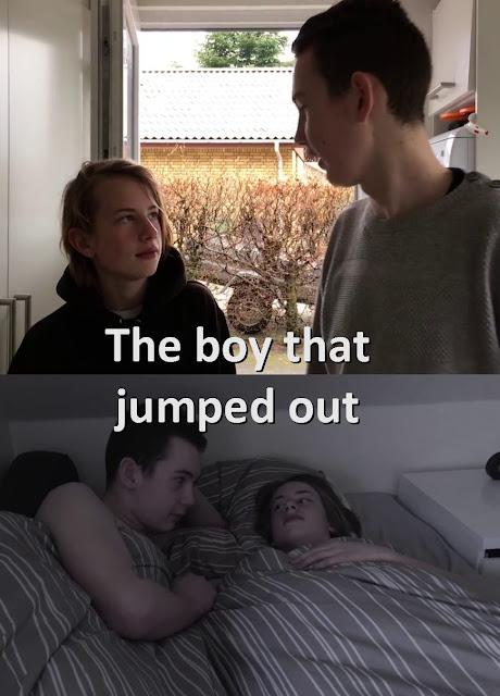 El chico que saltó, film