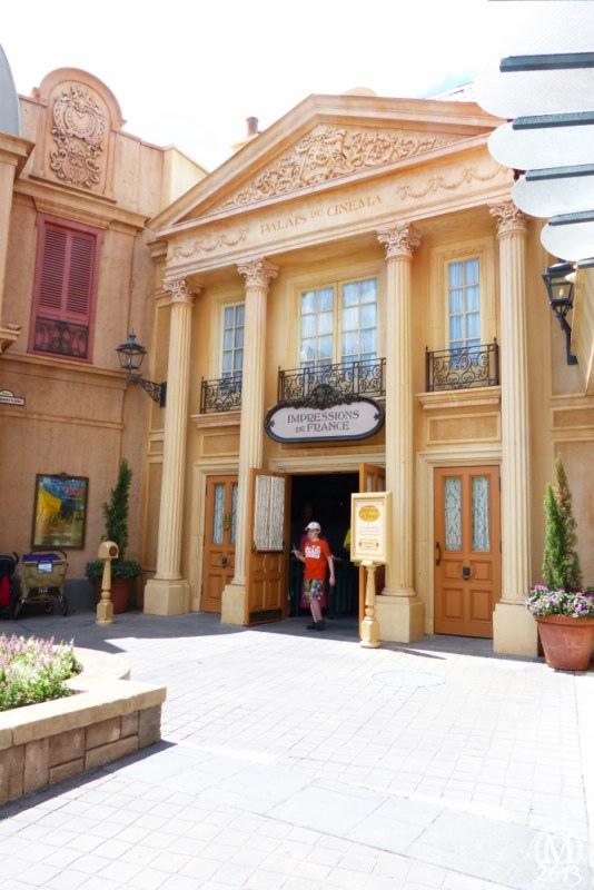 France Pavilion – Epcot World Showcase   Back To The Magic 2013