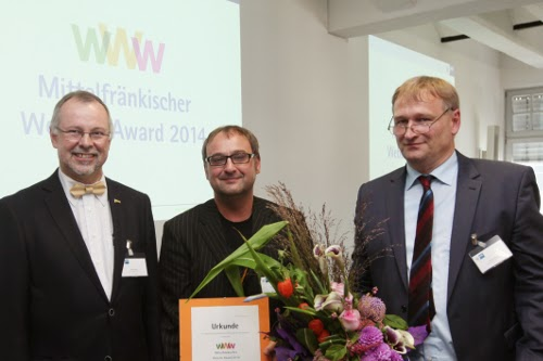 Platz 2 des Website-Awards 2014 der IHK Nürnberg: Ortega Guitars.