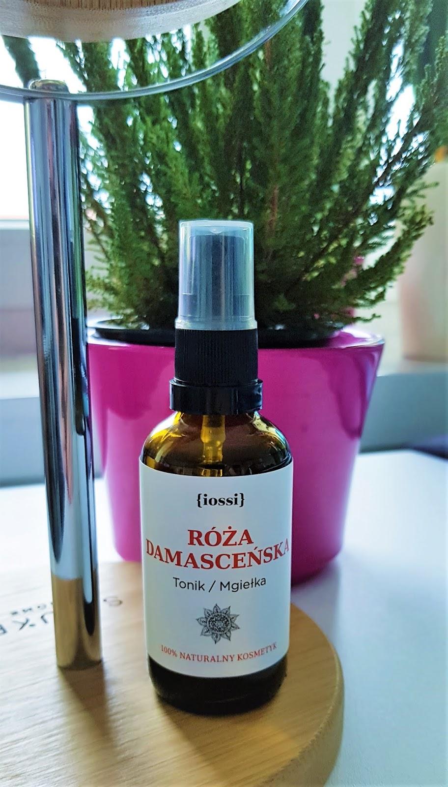 Iossi róża damasceńska tonik mgiełka