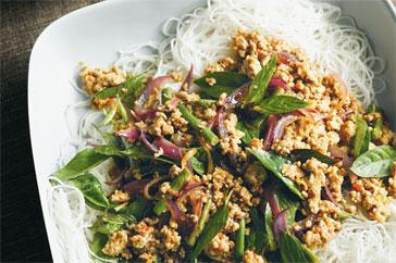 Kitchen Diaries Challenge 2013: Thai Minced Turkey