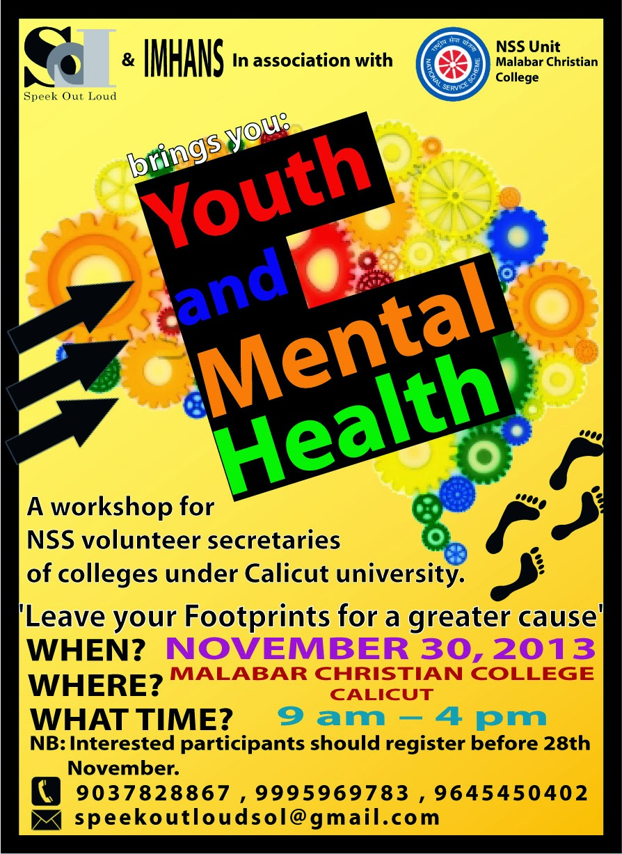 MENTAL HEALTH DAY AND YOUTH