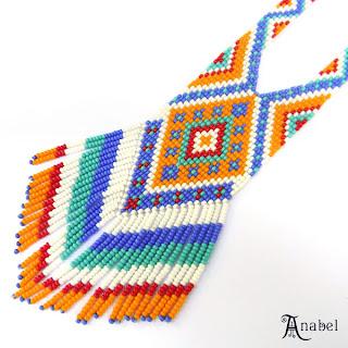 купить авторские украшения из бисера этнические украшения ручной работы