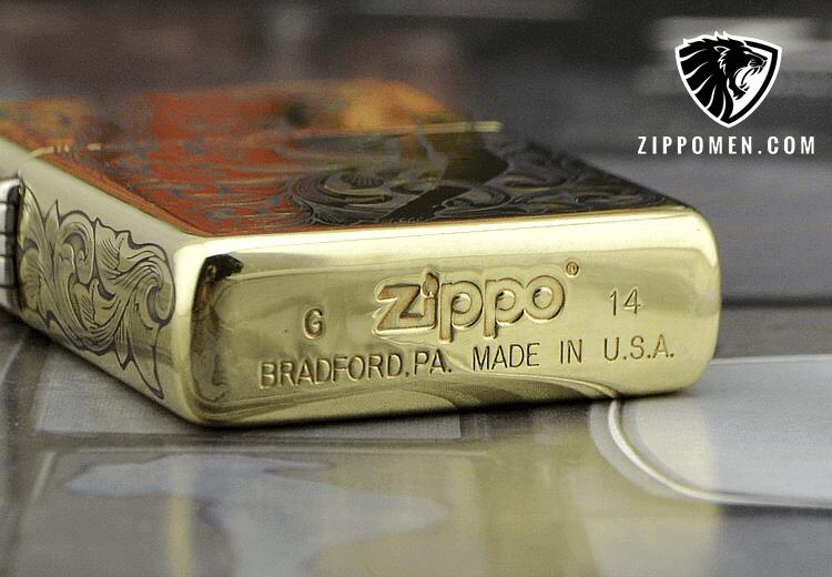 Zippo Khắc Tay Cô Gái Chân Dài Của Nghệ Nhân Nhật Bản | Zippo Độc